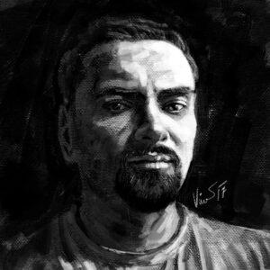 Martin Vinš - autoportrét
