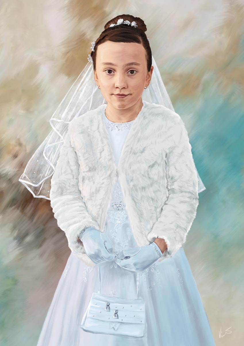 Obraz malá princezna